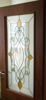 Tiffany type stained glass- A-05