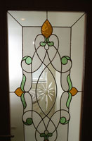 Tiffany type stained glass- A-10