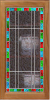 Classical stained glass C-04 vitraj-C-04